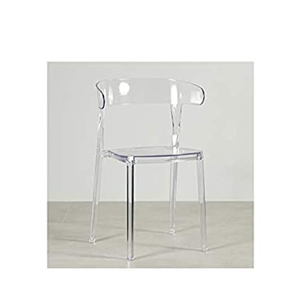 Acrylic Outdoor Furniture Mediterranean Style Lrzsfurniture Acrylic Dining Chair Nordic Fashion Simple Plastic Creative Leisure Chair Designer Outdoor Transparent Better Homes And Gardens Amazoncom Lrzsfurniture Acrylic Dining Chair Nordic Fashion