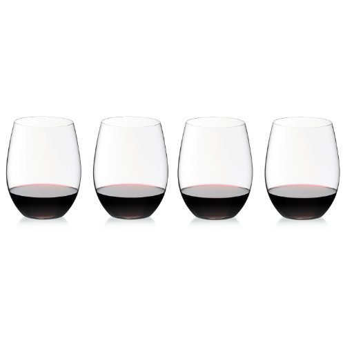 Riedel The O Cabernet Wine Tumbler, Set of 4 (Wine Riedel Glass Set)