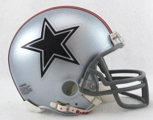 NFL Riddell Dallas Cowboys Mini Replica 1976 Throwback Helmet ()