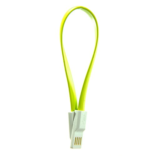 Accessories-To-Go   Zesty [Green] Micro USB Data and Power Cable (8.7-Inch Mini Size)