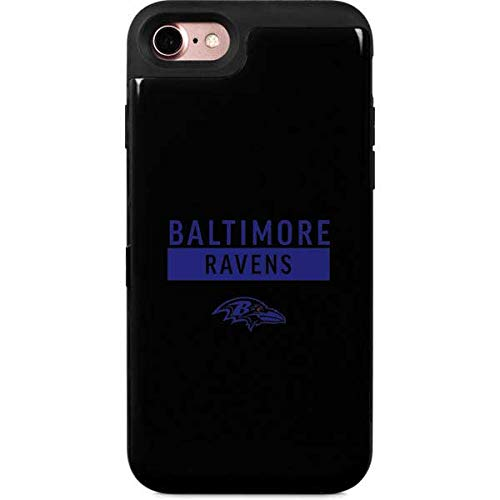 - Skinit Baltimore Ravens iPhone 8 Wallet Case - Officially Licensed NFL Phone Case - Wallet iPhone 8 Cover