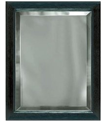 9 x 12 Grey Mirror Plaque Engraved in Black Frame by Gino's Awards Inc