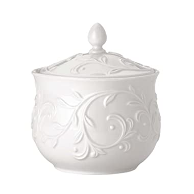 Lenox Opal Innocence Carved Sugar Bowl