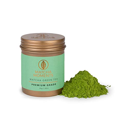 Matcha Green Tea Powder - Japanese Tea - Fair  Sustainable, Single Source Harvest, Farm To Cup Superfood From Japan - Premium Grade 30g / 1oz - Makes 30 cups