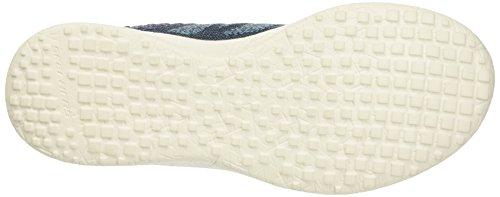 Skechers Burst-Hats Off, Scarpe da Ginnastica Basse Donna Blu (NVAQ)