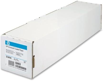 HP Q1404A - Rollo papel estucado (95gsm, 609.60mm x 45.72m), blanco: Amazon.es: Informática