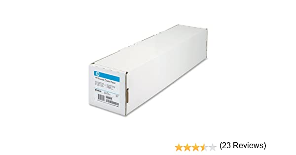 HP Q1404A - Rollo papel estucado (95gsm, 609.60mm x 45.72m ...