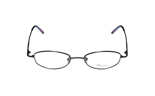 Thalia Teresa WomensLadies Ophthalmic Unique Design Designer Full-rim EyeglassesEyewear (49-18-140 Navy)
