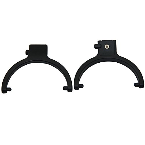 Price comparison product image Poyatu Hanger Hook Plastic Connector for Sony MDR-7506 MDR-V6 MDR 7506 V7 Headphones Speakers Hook Replacement Parts