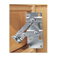 - Rev-A-Shelf 6542-97-11-4 Slim Tip-Out Hinges with End Caps, White