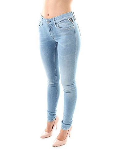 Wx689 Blu Donna Jeans Replay Denim 661 4wqYBTd