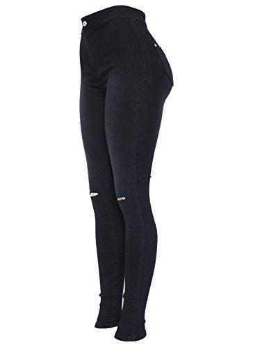 341 Barfly Skinny Black Femme Fashion Jeans WxxgwPq8p