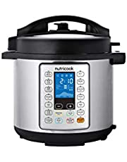 Nutricook Electric Rice Cooker, 8 Liters, 1000 Watt - NC-SPPR8