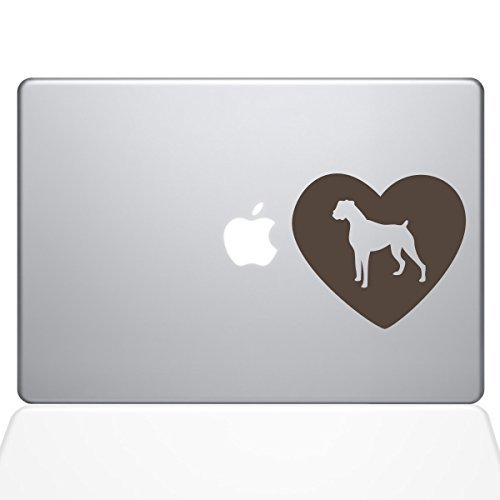 優先配送 The Decal Guru Heart & Boxer Dog Decal Macbook Decal [並行輸入品] Vinyl Sticker - 13 Macbook Pro (2016 & newer) - Brown (1326-MAC-13X-BRO) [並行輸入品] B0788G5GQS, かめ屋質店:cd985b7a --- a0267596.xsph.ru