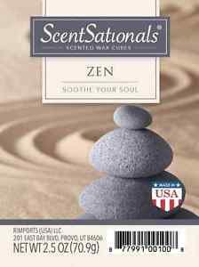 Zen-Everydaycollection Wax 3 packs - Scented Wax for - Cube Zen
