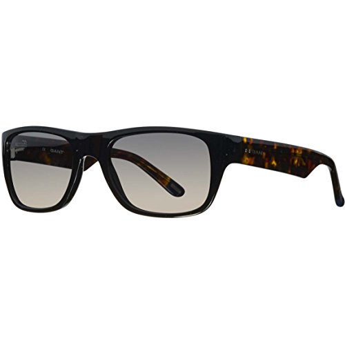 Gant Mens Classic Rectangle Sunglasses in Black Tortoise GTS2028 BLKTO - Men Gant Sunglasses