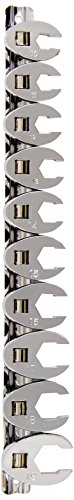 K-Tool Crowfoot Wrench Set - 1.30 lb - Heat Treated