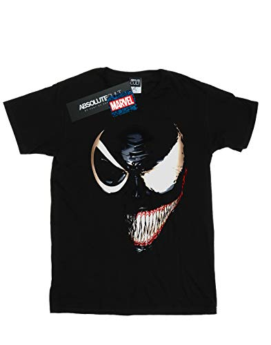 Noir Marvel Homme T Split Venom shirt Universe Face wSB0wg