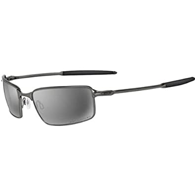 oakley square wire titanium polarized