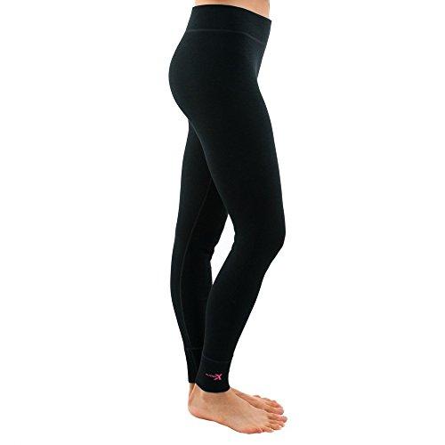 Midweight Merino Base Layer Bottoms Womens Wool Leggings Warm /& Soft Woolx Avery