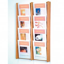 Stance 8 Pocket Wall Display by Wooden Mallet