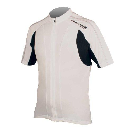 Endura FS260-Pro Short Sleeve Cycling Jersey II White, Large