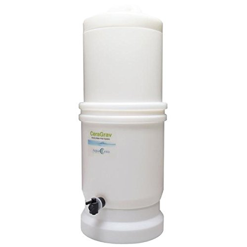AquaCera CeraGrav LP5 Gravity Water Filter System W9375000 - Empty Housing Only by AquaCera