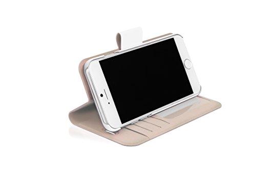 WHITE DIAMONDS Crystal Wallet White für iPhone 7/ 6S/ 6 [1342TRI47]