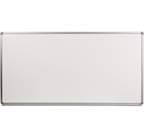 K&A Company Porcelain Magnetic Board X Marker 6' W x 3' H by K&A Company
