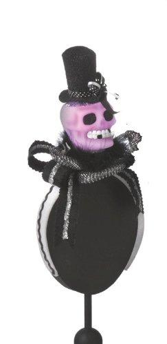 Midwest Gloves SKULL Skeleton Halloween Light Up HEADBAND HAT Costume Acces