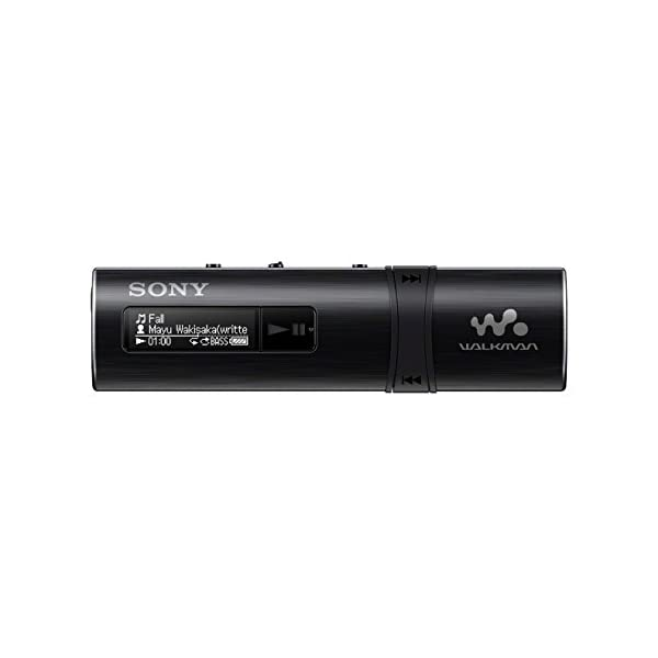Sony NWZ-B183F Flash MP3 Player with Built-in FM Tuner (4GB) - Black 2