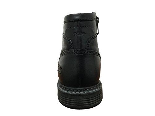 Rockport Heren Ur Inside Zip Wingtip Schoenen Zwart