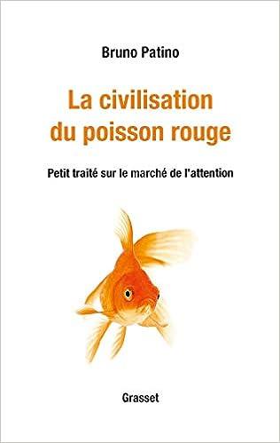 Couverture La civilisation du poisson rouge