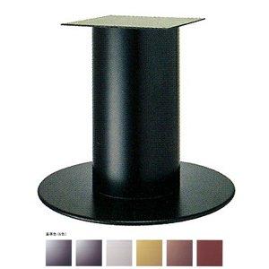 e-kanamono テーブル脚 ソフトS7620 ベース620φ パイプ101.6φ 受座240x240 基準色塗装 AJ付 高さ700mmまで ジービーメタリック B012CF1QIA ジービーメタリック ジービーメタリック