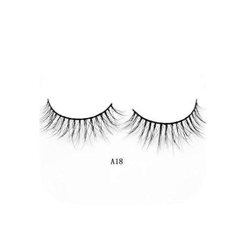 Eyelashes 3D Mink Eyelashes Crossing Mink Lashes Hand Made Full Strip Eye Lashes 34 Styles cilios naturais False Lashes,Drem-wardrobe,A18