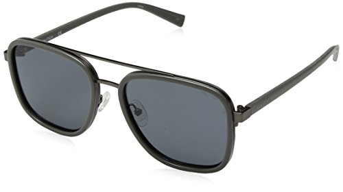 Nautica Men's N4626sp Polarized Aviator Sunglasses, GREY, 57 ()