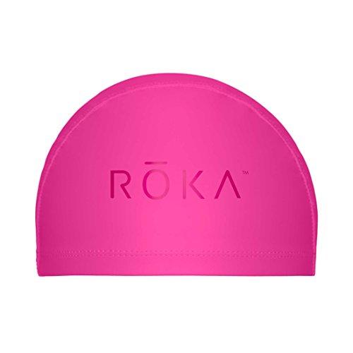 ROKA Thermal PU-Coated Nylon Swimming Cap - Magenta