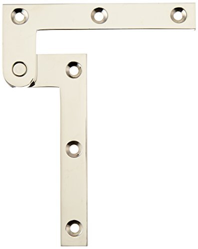 Deltana PH40U14 Solid Brass 4 3/8-Inch x 5/8-Inch x 1/4-Inch Pivot Hinge by Deltana