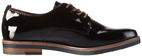 Oxford Zapatos 23200 Mujer 018 Tozzi Marco Para black Negro De Patent Cordones wqXnT5Ex