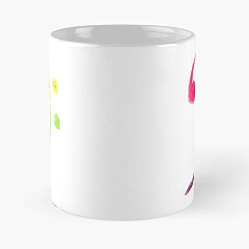 Watercol - 11 Oz Coffee Mug- Unique Holiday Gift.