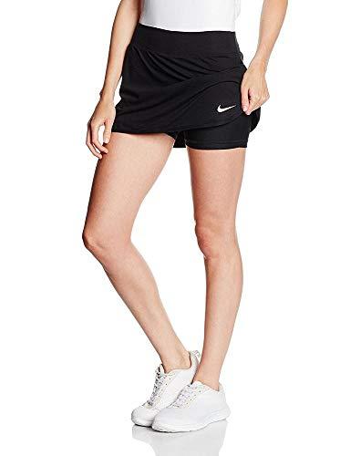 Nike Women's Pure Skirt, Black/White LG by Nike (Image #6)