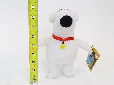 Family Guy Brian Plush Dog - 9 Inches by Nanco [parallel import goods]
