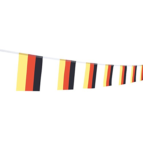 TSMD German Flag, 100 Feet Germany Flag National Country Pennant Flags Banner,Party Decorations for Grand Opening,Olympics,World Cup,Bar,School Sports Events,International Festival Celebration