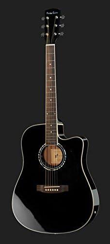 Set Guitarra Acústica Amplificada Harley Benton hbd120cebk: Amazon ...