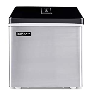 Luma Comfort Portable Clear Ice Maker 28 lb Daily, Perfect Countertop Icemaker Machine, IM200SS Stainless Steel (B00DYJNNWQ) | Amazon price tracker / tracking, Amazon price history charts, Amazon price watches, Amazon price drop alerts