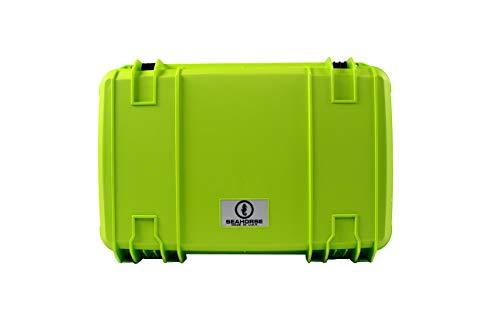 Seahorse 920 Waterproof Wheeled Hard Case, Lime Green ()