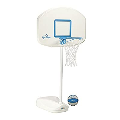 Dunn Rite H2O Hoops Poolside Basketball and Volleyball Game Set: Toys & Games