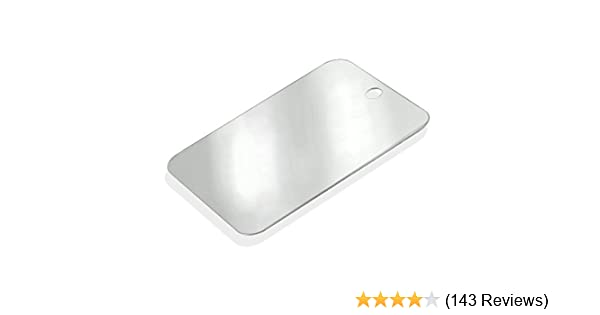 Amazon.com  HTS Heavy-Duty Stainless Steel Camping Mirror - Personal ... 7162b95a67b