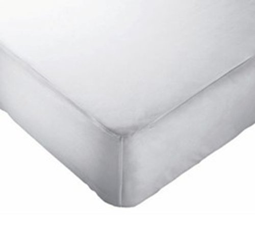 Priva Water Resilient Vinyl Fitted Mattress Protector (Twin)