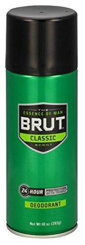 Brut Deodorant 10oz Aerosol Classic Scent (2 Pack)